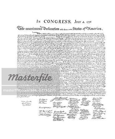 DÉCLARATION D'INDÉPENDANCE LE 4 JUILLET 1776
