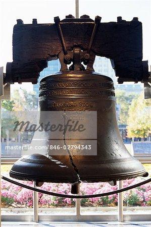 LIBERTY BELL INDÉPENDANCE NATIONALE HISTORIQUE PARC PHILADELPHIE