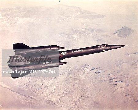 ANNÉES 1960 ANNÉES 1970 LOCKHEED YF-12 A JET MILITAIRE AVION AVION FORCE AÉRIENNE
