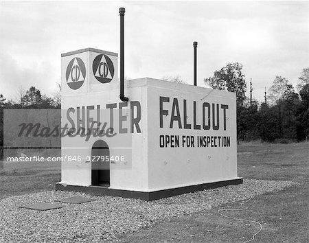 1950s CIVIL DEFENSE FALLOUT SHELTER
