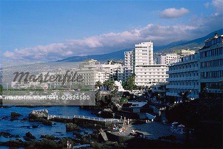 Puerto de la Cruz, Tenerife, Canary Islands, Spain, Europe
