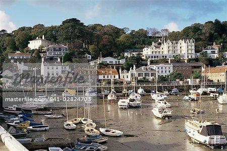 St. Aubin, Jersey, Channel Islands, Royaume-Uni, Europe