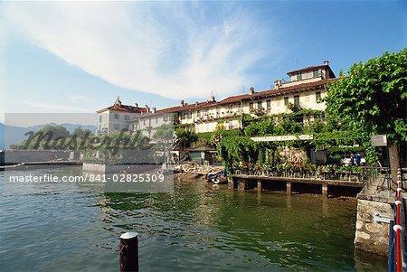 Isola Pescatori, Lake Maggiore, Piemonte, Italy, Europe