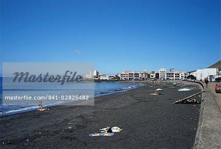 Playa de Gran Rey, La Gomera, Canary Islands, Spain, Atlantic, Europe
