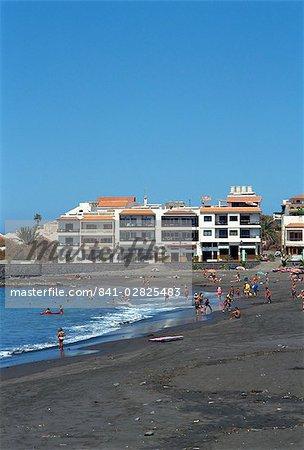Playa de Gran Rey, La Gomera, Canary Islands, Spain, Atlantic Ocean, Europe