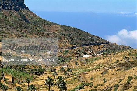 Area between Erquito and Las Hayas, La Gomera, Canary Islands, Spain, Atlantic, Europe