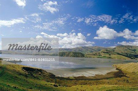 The Banks Peninsula, Canterbury, South Island, New Zealand