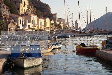 Yialos, Symi, Dodécanèse, îles grecques, Grèce, Europe