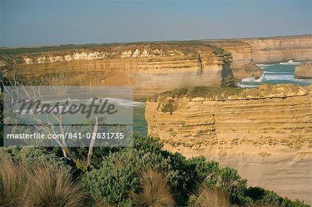 Razorback and sea stacks near Port Campbell, Great Ocean Road, Victoria, Australia, Pacific