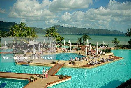 Hayman Island resort, Whitsundays, Queensland, Australie, Pacifique