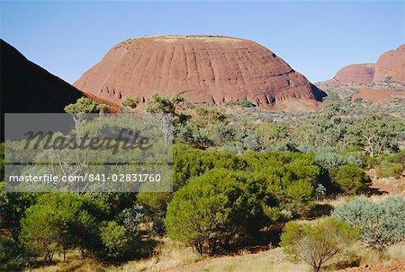 Kata Tjuta, les Olgas, territoire du Nord, Australie