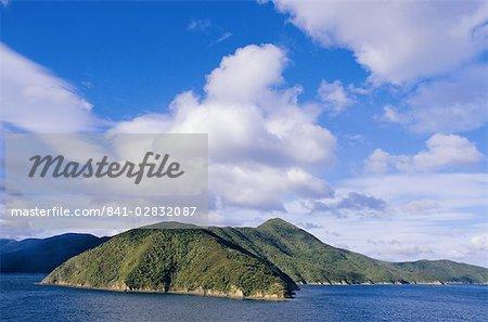 Queen Charlotte Sound, near Picton, Marlborough, South Island, New Zealand, Pacific