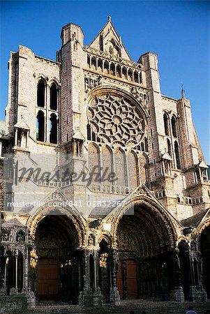 Chartres cathédrale, patrimoine mondial UNESCO, Chartres, Centre, France, Europe