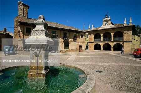 Ayllon, Segovia province, Castilla y Leon, Spain, Europe