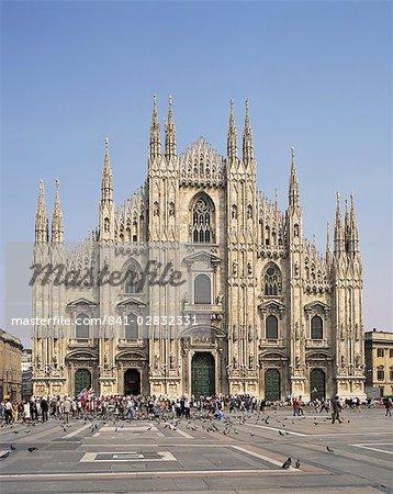 Milan cathédrale, Milan, Lombardie, Italie, Europe