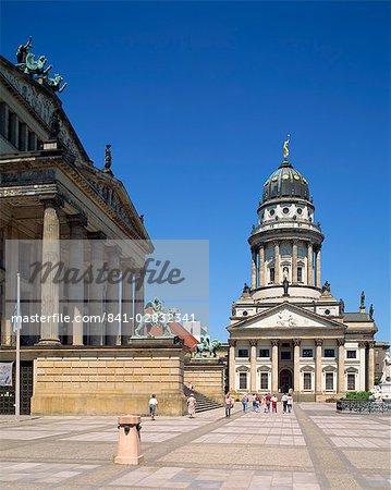 Le théâtre et la cathédrale française de Berlin, Allemagne, Europe