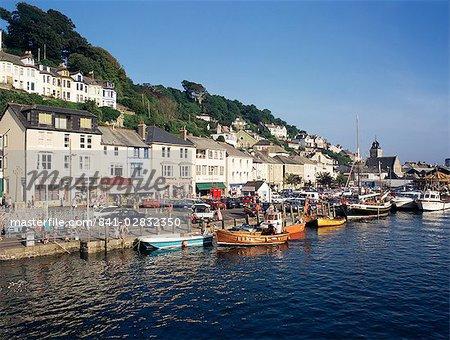 Looe, Cornwall, Angleterre, Royaume-Uni, Europe