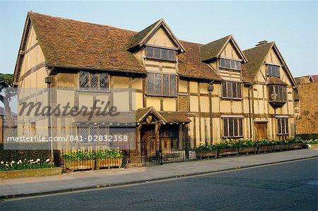 Lieu de naissance de Shakespeare, Stratford, Warwickshire, Angleterre, Royaume-Uni, Europe