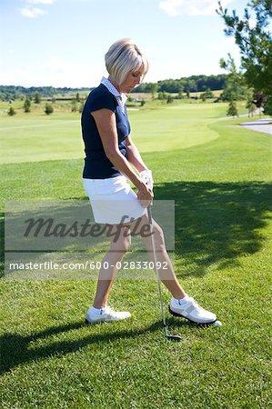 Golfeur tricherie