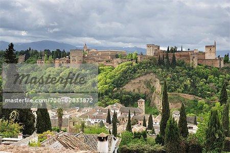 The Alhambra, Granada, Andalucia, Spain