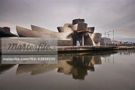 Guggenheim Museum, Bilbao, Baskenland, Spanien