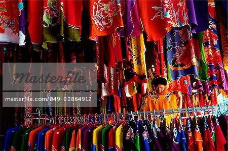 Malaysia, Kelantan State, Kota Bahru, Batik Factory Shop