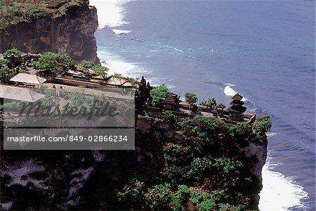Indonésie, tir aérien Bali, Ulu Watu Temple,
