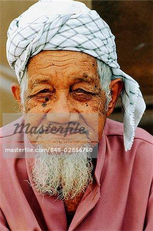 Malaisie, ancien musulman, portrait.