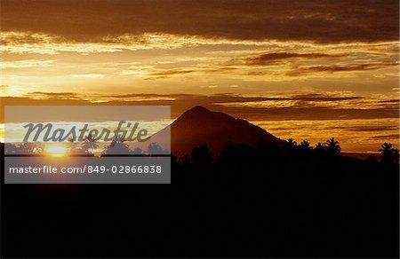 Indonesia, Sumatra, sunrise.