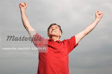 Man Cheering