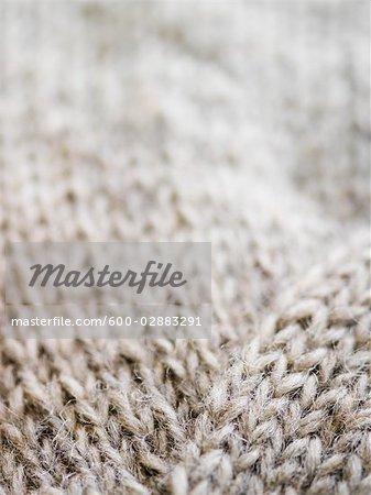 Close-up of Wool Mitten