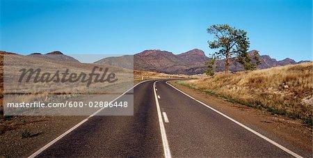 Highway, Flinders Ranges, Australia