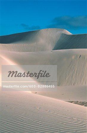 Dunes de sable, Australie