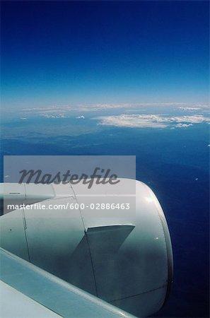 Jet-Flugzeug-Engine