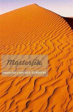 Dune de sable, désert de Simpson en Australie