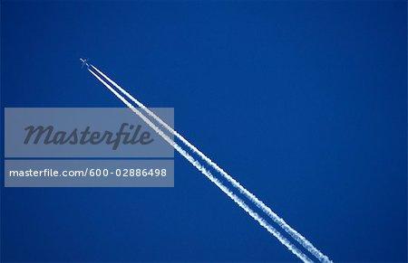 Jet Plane Contrail