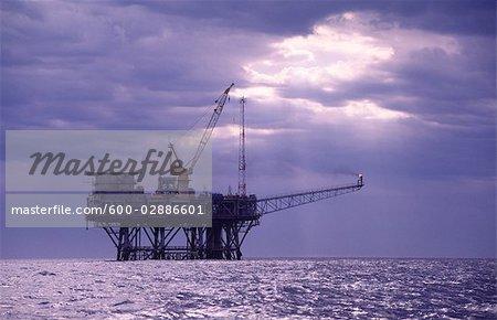 Oil & Gas Off-Shore Oil Platform