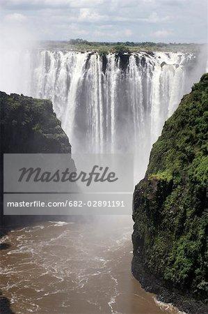 Rainbow Falls, Victoria Falls, Zimbabwe Matabeleland-Nord