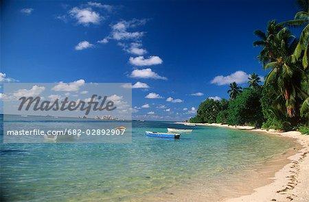 Beach and Boat Scenic