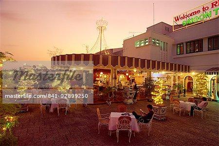 Rex Hôtel Roof Garden Bar et Restaurant, Ho Chi Minh ville (Saigon), Viêt Nam, Indochine, Asie du sud-est, Asie