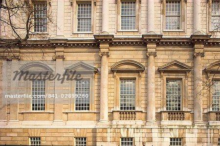 Détail de la banquet maison, Whitehall, Londres, Royaume-Uni, Europe