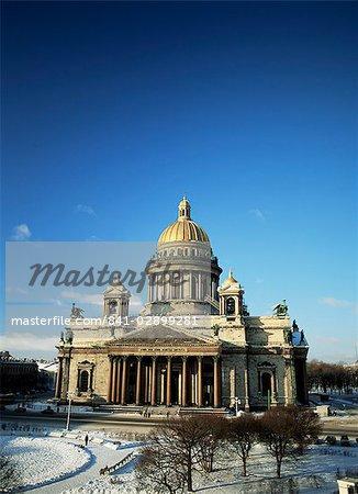 Europe, Saint-Pétersbourg, la cathédrale Saint-Isaac
