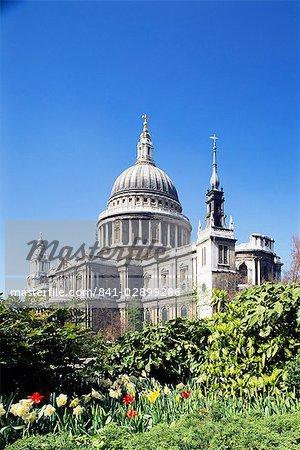 St. Pauls Cathedral, London, England, Großbritannien, Europa