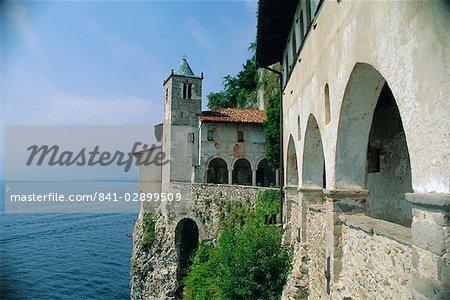 Santa Caterina del Sasso, Lake Maggiore, Piemonte, Italy