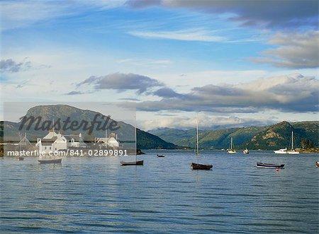 Plockton Harbour, Northwest Highlands, Highland Region, Scotland, United Kingdom, Europe