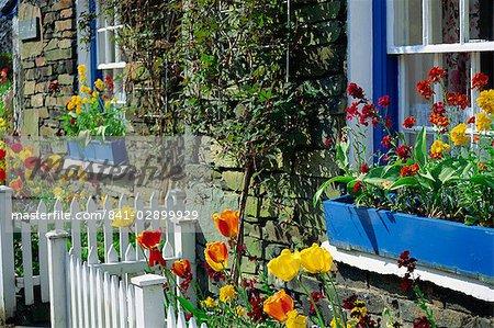 Altes Steinhaus, Troutbeck, Cumbria, England, Vereinigtes Königreich, Europa