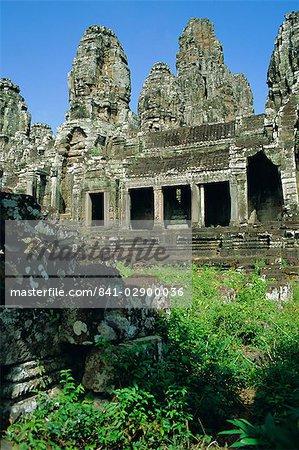 Le Bayon temple, Angkor, Siem Reap, Cambodge