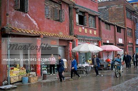 Ancien logement traditionnel, Xingyi, Guizhou, Chine, Asie
