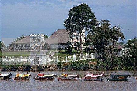 White Raja's Palace, Kuching, Sarawak, Malaysia, Southeast Asia, Asia