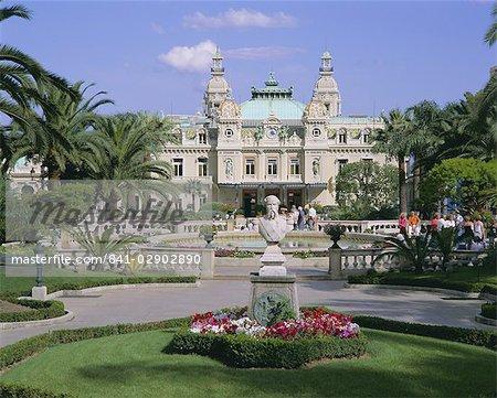 Le Casino, Monte Carlo, Monaco, Côte d'Azur, l'Europe